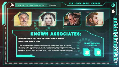 Data Investigation Promo 66133 - After Effects Templates