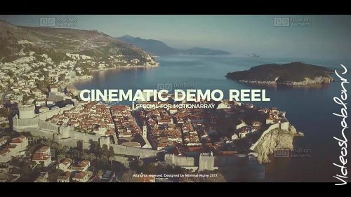 Cinematic Demo Reel 10997140 - After Effects Templates