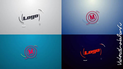 Simple shapes logo reveal 78735 - After Effects Templates