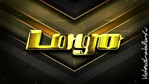 Gold Logo Intro 68 - After Effects Templates