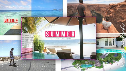 Summer Stylish Opener 104 - After Effects Templates