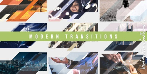 Modern Transitions 10 Pack Volume 4 - Project for After Effects